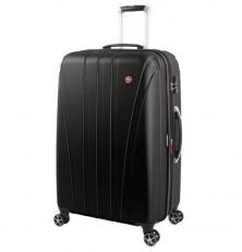 Черный большой чемодан на колесах Tallac