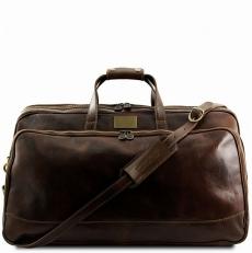 BORA BORA - Большая дорожная сумка из кожи на колесах
