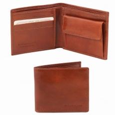 Кожаный бумажник ручной работы