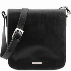 MESSENGER - Кожаная сумка на плечо с 1 отделением