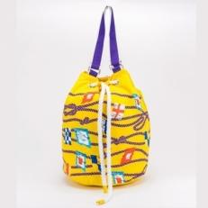 Торба пляжная 10473 желтая