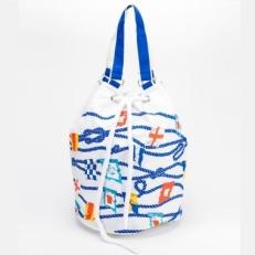 Торба пляжная 10473 белая