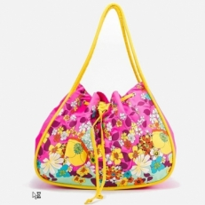 Розовая сумка-торба 10611-BE
