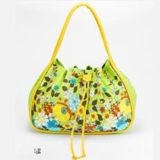Зеленая сумка-торба 10611-BE