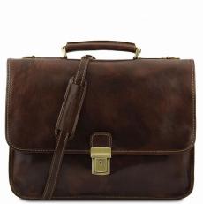 TORINO - Коричневый портфель из натуральной кожи