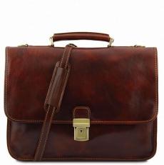 TORINO - Кожаный портфель на 2 отделения