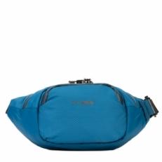 Сумка на пояс с защитой от краж Venturesafe X waistpack blue steel
