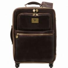 Voyager - Дорожный чемодан из натуральной кожи