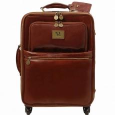 Voyager - Кожаный чемодан на колесах