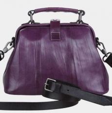 Женский саквояж W0013 фиолетовый