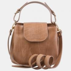 Женская сумочка W0017 бежевая