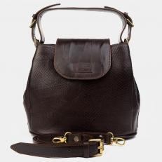 Женская сумочка из кожи под змею W0017