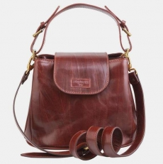 Женская сумочка W0017 коричневая