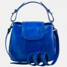 Женская сумочка W0017 ярко-синяя