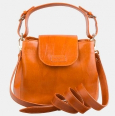 Женская сумочка W0017 оранжевая