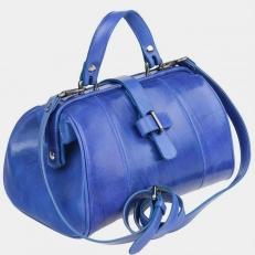 Женский саквояж W0025 ярко-синий