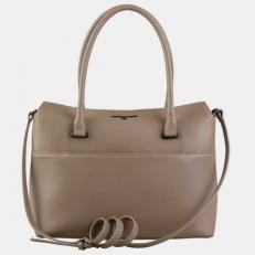 Женская сумка W0030 бежевая