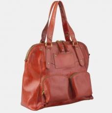 Женская сумка W0033 рыжая