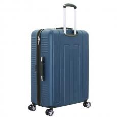 Синий пластиковый чемодан Vaud фото-2