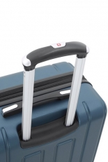 Синий чемодан среднего размера Vaud фото-2