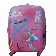 Чехол на чемодан WildLife-M