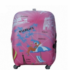 Чехол на чемодан WildLife-S