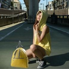 Желтый рюкзак 5014