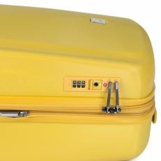 Чемодан на колесах 808 24 желтый фото-2