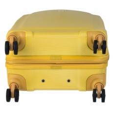 Чемодан на колесах 808 28 желтый фото-2
