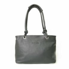 Кожаная женская сумка KSK 3101 серая