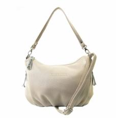 Женская сумка из светлой кожи 3314