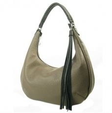 Кожаная сумка хобо 3365