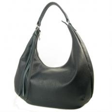 Кожаная сумка хобо 3367