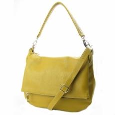 Большая сумка женская из кожи гочичного цвета 4086