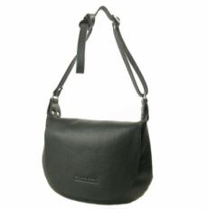 Кожаная сумка 4304 черная