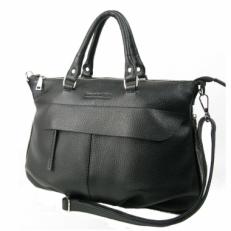 Большая сумка KSK 7066 черная