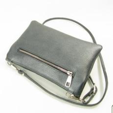 Кожаный клатч 8503 черный фото-2