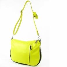 Желтая сумка женская из натуральной кожи 306.2