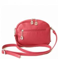 Дамская сумочка красная 3507 фото-2