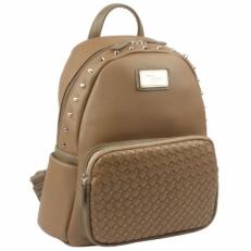 Рюкзак молодежный бежевый 3525