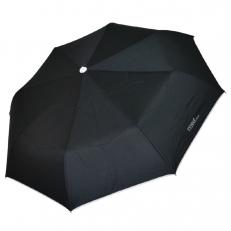 Черный женский зонт автомат 30017