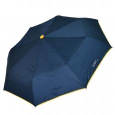 Женский зонт синий с желым кантом 30017