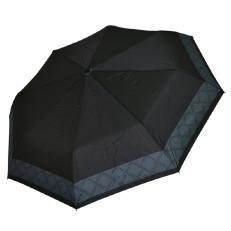 Зонт складной черный унисекс 4FU