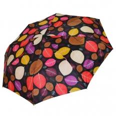 Зонт женский с листьями 542F