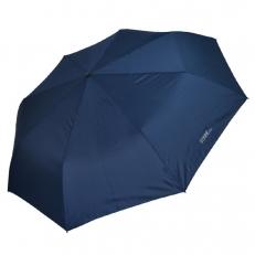 Мужской зонт однотоннный синего цвета 9D