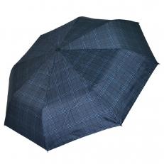 Зонт мужской в крупную клетку 557