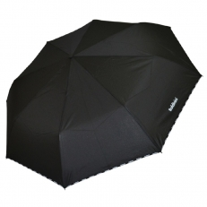 Зонт черный мужской 6002