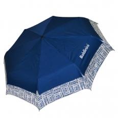 Женский складной зонт синий 61