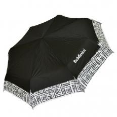 Зонт женский складной черный 61