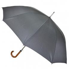 Зонт трость мужской серый H.811-8